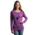 Rip Curl Lakeside Women's Sweater - Darker Purple / S - Koala Logic - 2