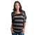 Rip Curl Seaside Stripe Women's Top - Black / S - Koala Logic - 3