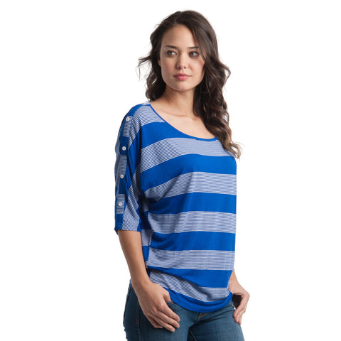 Rip Curl Seaside Stripe Women's Top - Surf the Web / S - Koala Logic - 1