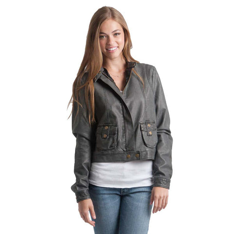 Rip Curl Shadow Vinyl Women's Jacket