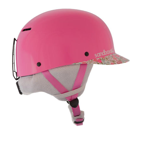 Sandbox Classic 2.0 Ace Kids Snow Helmet Flower Power