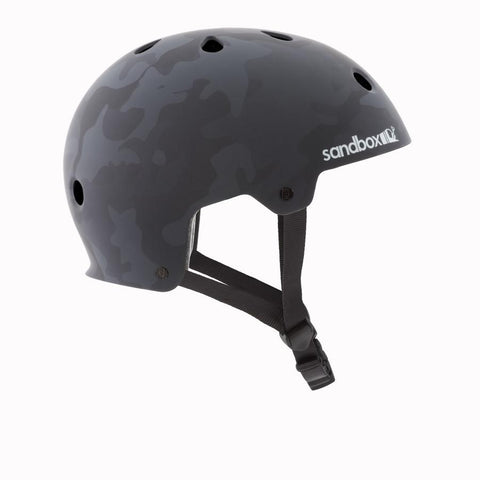 Sandbox Legend Low Rider Helmet Black Camo - Koala Logic