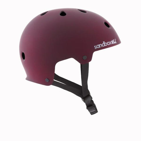 Sandbox Legend Low Rider Helmet Burgundy