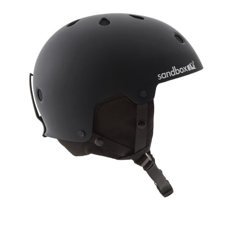 Sandbox Legend Snow Helmet Black - Koala Logic