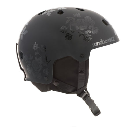 Sandbox Legend Snow Helmet Black Roses