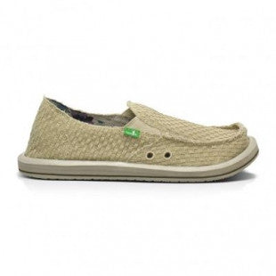 Sanuk Vegabond Yogi Men's Sidewalk Surfers - Natural / 9 - Koala Logic - 1
