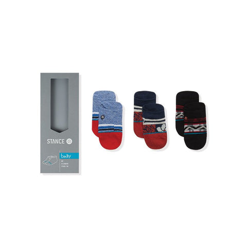 STANCE Red Tide 3-Pack Infant Boys Socks