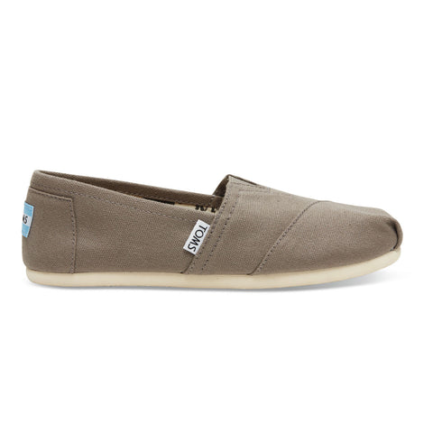 TOMS Ash Canvas Women's Classics Shoes - Ash / 5 - Koala Logic - 1