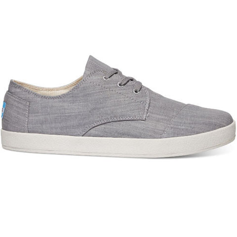 TOMS Grey Denim Men's Paseo Sneakers
