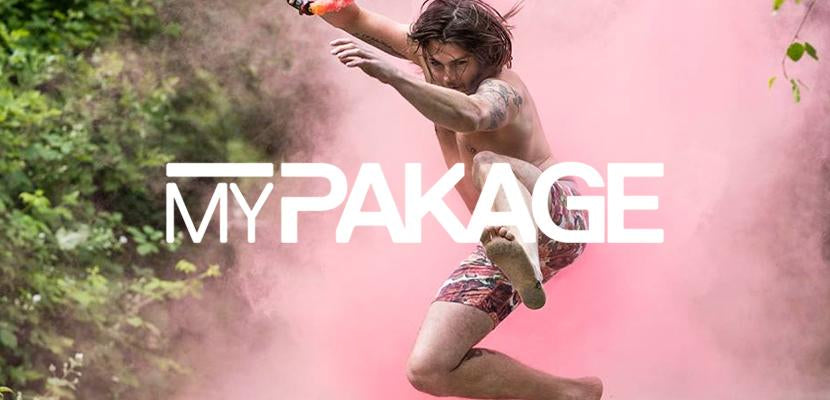 My Package Underwear Banner