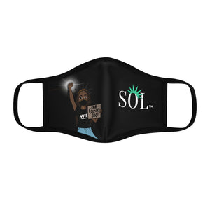 Unisex SOL Face Mask (Our Country Too LIMITED EDITION)