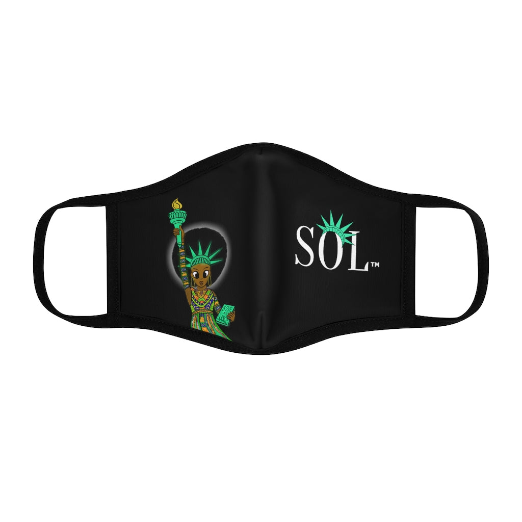 Unisex SOL Face Mask (Black History Month Edition)