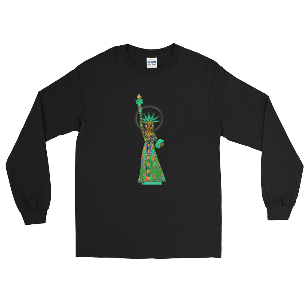 Unisex SOL Classic Long-Sleeve Tee (Black History Month Ed.)