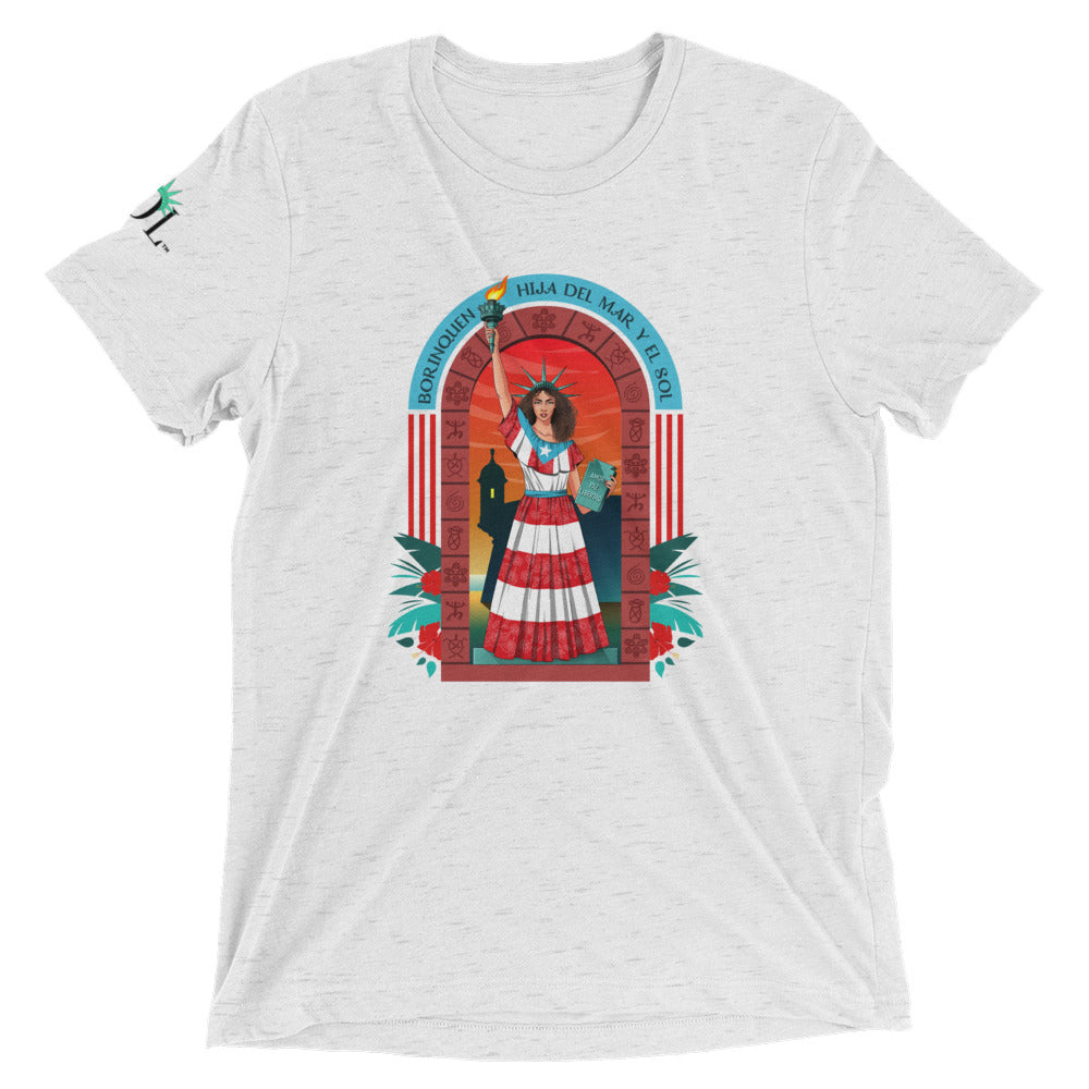 Unisex SOL (w/ background) Tee (Boricua Edition)