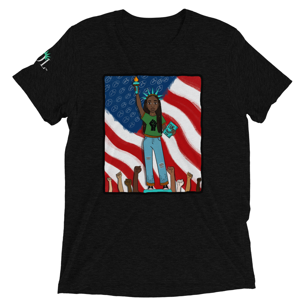 Unisex SOL (w/ background) Tee (Our Country Too Edition)