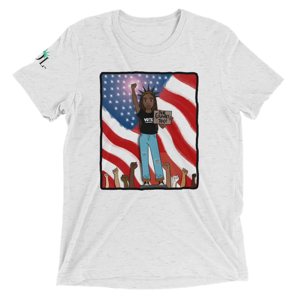Unisex SOL (w/ background) Tee (Our Country Too Limited Edition)