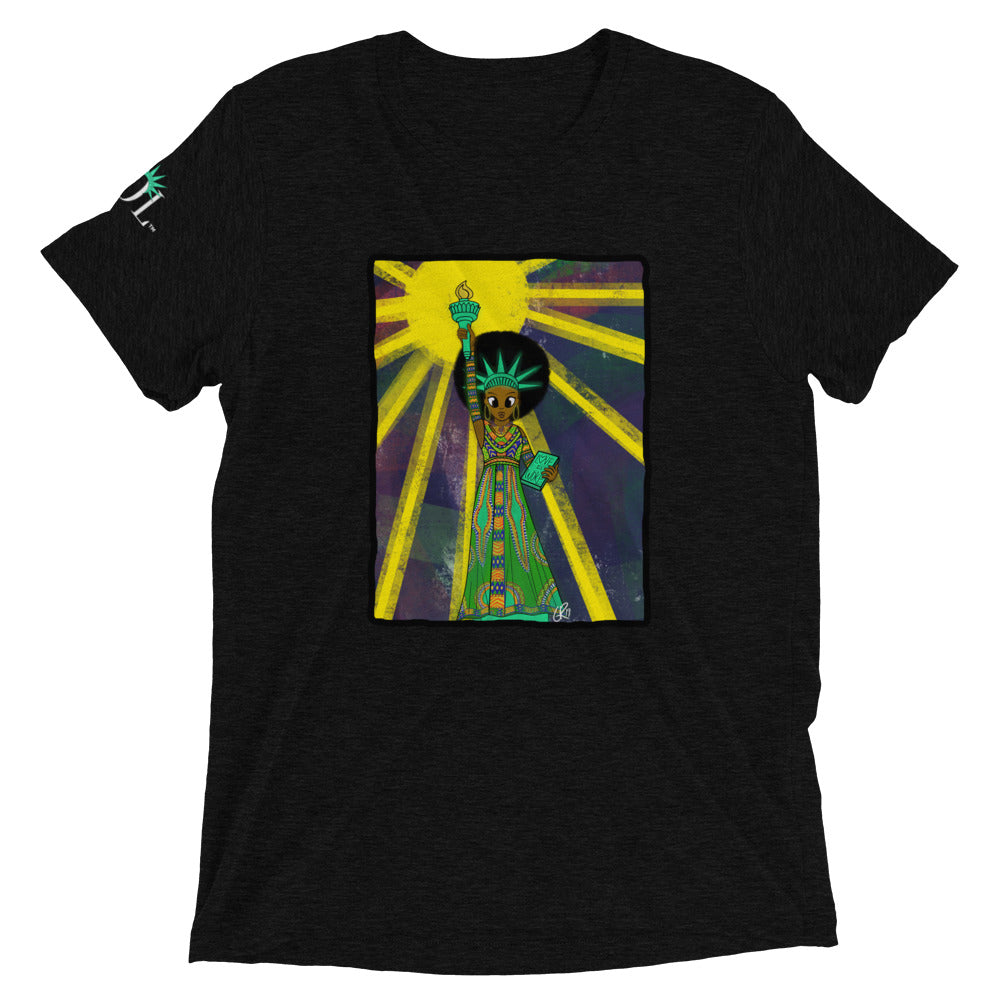 Unisex SOL (w/ background) Tee (Black History Month Edition)
