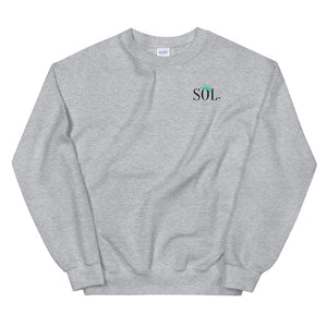 Unisex SOL Crewneck (Our Country Too w/ mask Limited Edition)