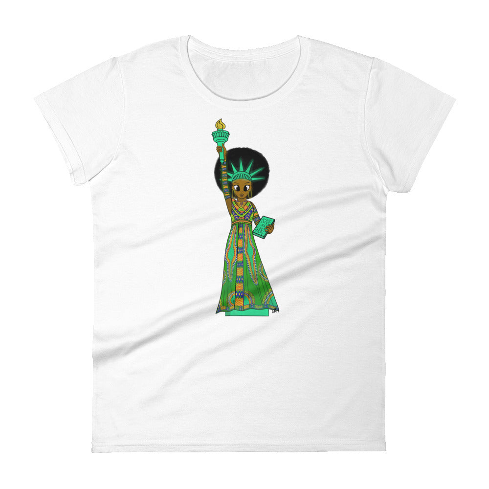 Women's Classic SOL Short Sleeve T-shirt (Black History Month Ed.)