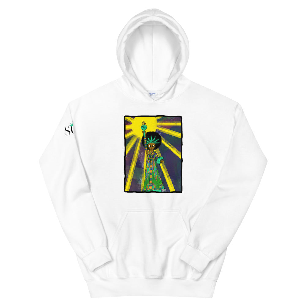 Unisex SOL Hoodie (w/ background) (Black History Month Edition)