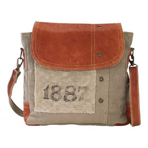 1887 Leather Bag By Clea Ray