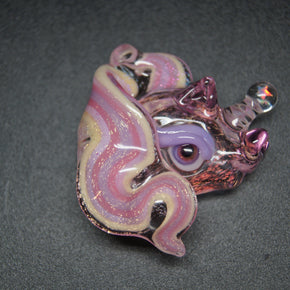 ACE Glass  Dicro Rozay Unicorn Flatback Pendant
