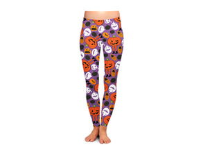 Attack of the Pumpkins Women's Halloween Leggings