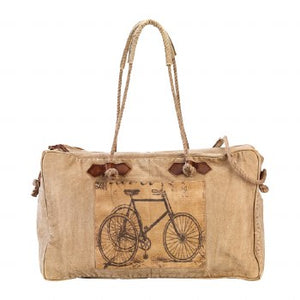 Bicycle Travel Bag By Clea Ray