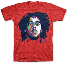 Bob Marley Color Planes T-Shirt