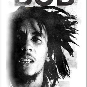 Bob Marley Legend Remix Sticker