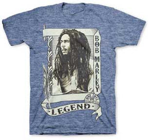 Bob Marley Legend Scroll T-Shirt