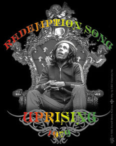 Bob Marley Redemption Song Sticker