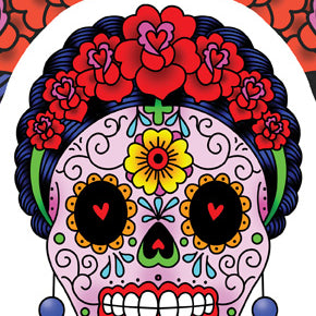 Calavera Frida Sticker