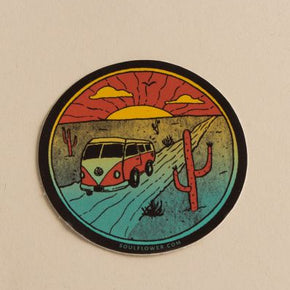 Desert Bus Sticker