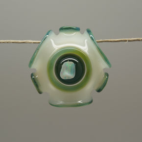 Emily Marie Glass Protozoa Glass Pendant