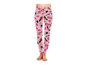 French Kiss Women's Valentine's Day Leggings