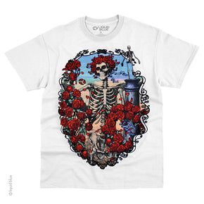 Grateful Dead 30th Anniversary White T-Shirt