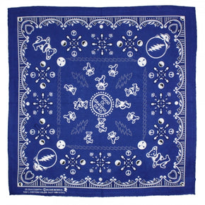 Grateful Dead Bandana Good Ol' Grateful Dead Navy