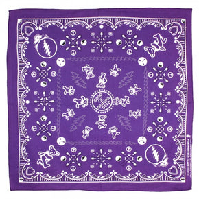 Grateful Dead Bandana Good Ol' Grateful Dead Purple