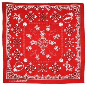 Grateful Dead Bandana Good Ol' Grateful Dead Red