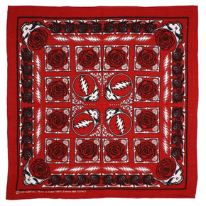 Grateful Dead Bandana Steal Your Face Red