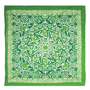 Grateful Dead Bear Mandala Bandana Green