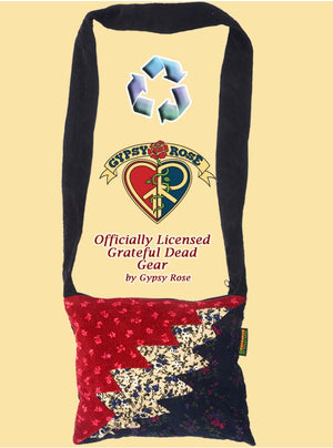 Grateful Dead Bolt Recycled Printed Corduroy Journal Bag