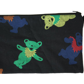 Grateful Dead Dancing Bear Printed 10x6 Coin Purse