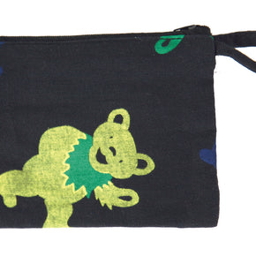 Grateful Dead Dancing Bear Printed 6x4 Coin Purse