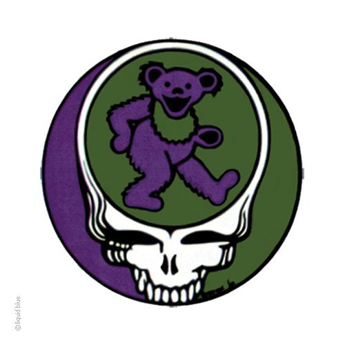 Grateful Dead Steal Your Bear Window Sticker