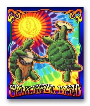 Grateful Dead Terrapin Sunshine Fleece Blanket