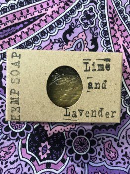 Handmade Lime And Lavender Soap