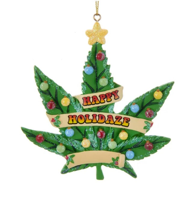 Happy Holidaze Ornament
