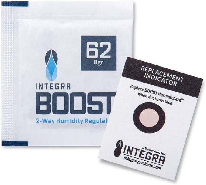 Integra Boost 8g 62% Humidity Pack